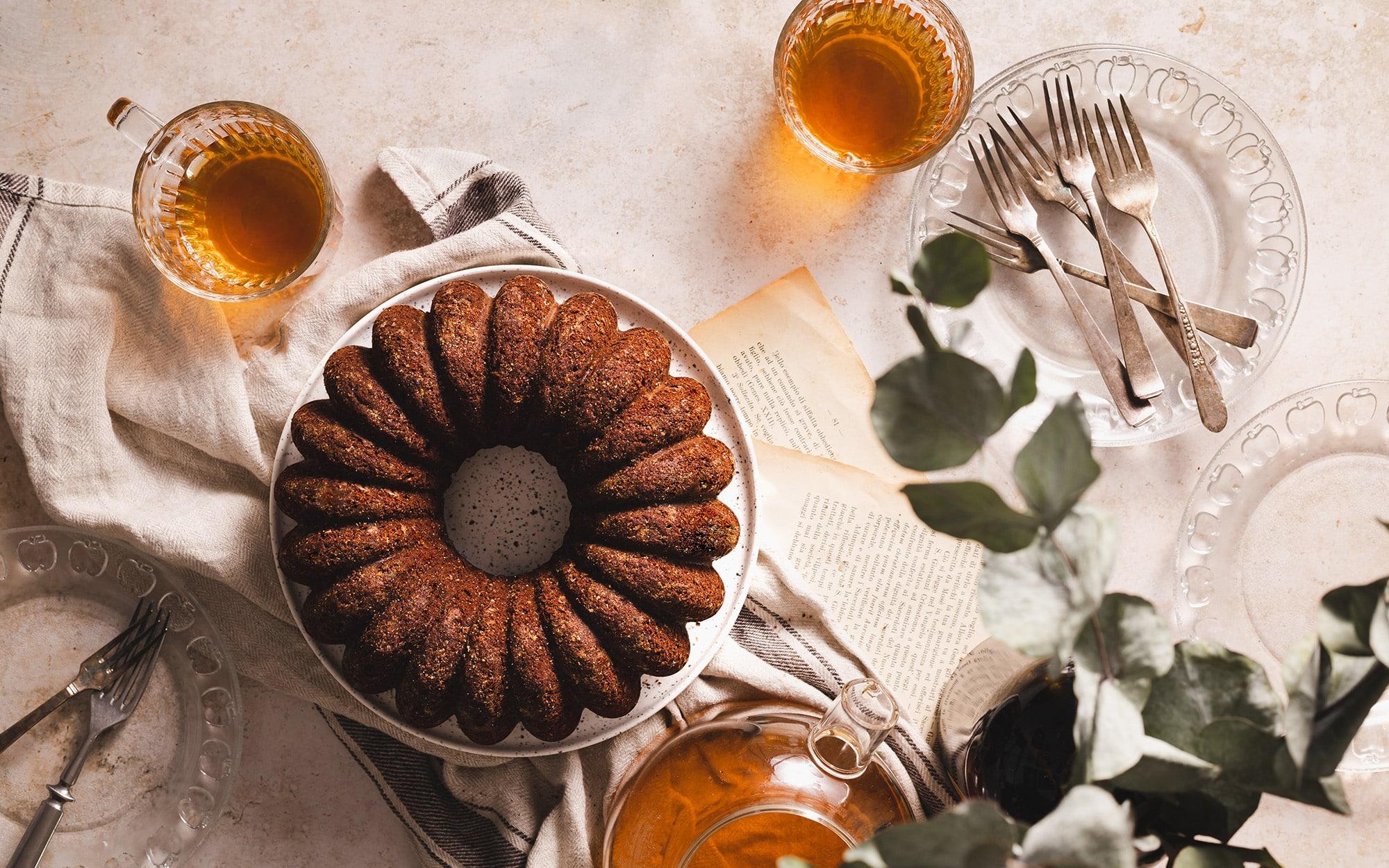 Lucia Marecak Chocolate bundt cake